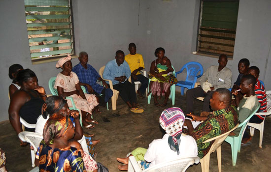 Focus Group discussions of self advocates and their families in the Volta Region